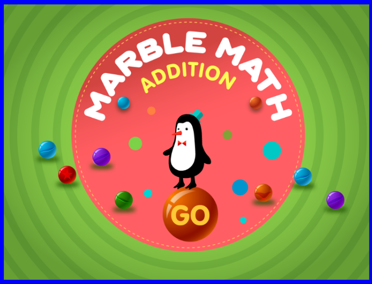 Link to online game Marble Math