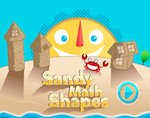 Online game Sandy Math Shapes
